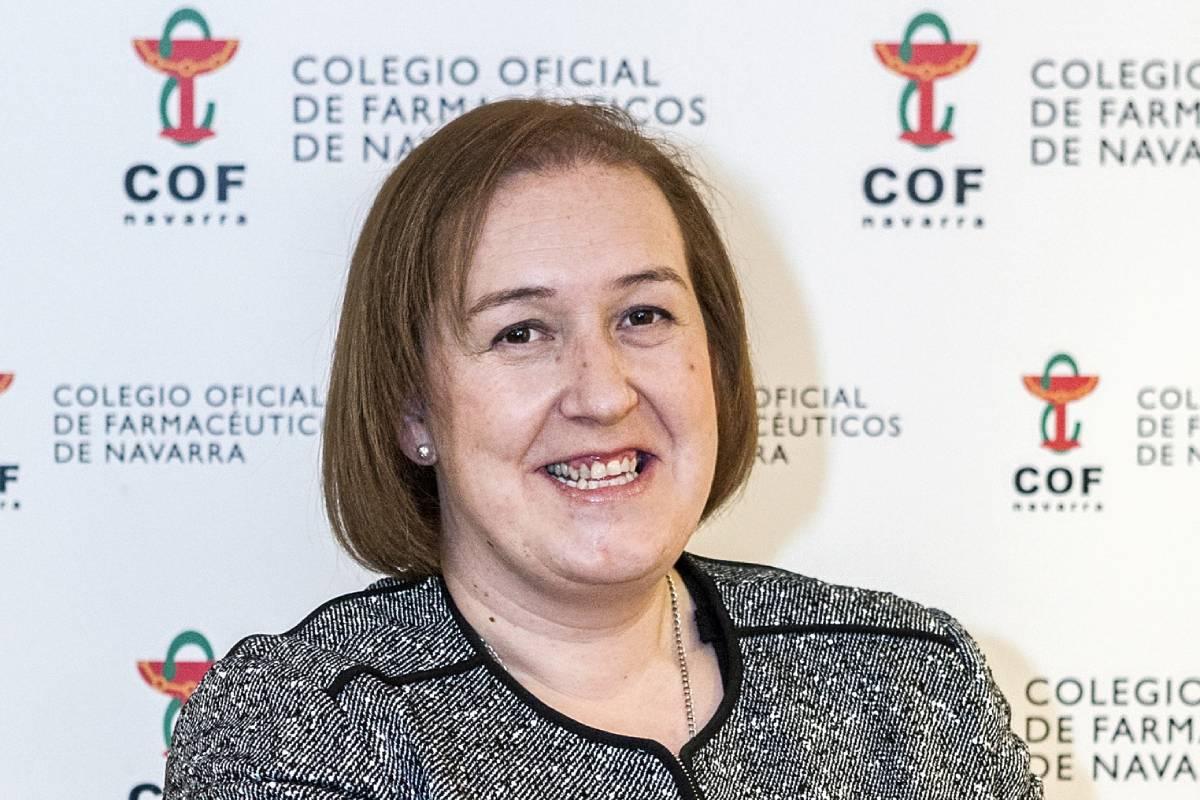 Marta Galipienzo, presidenta del COF de Navarra.