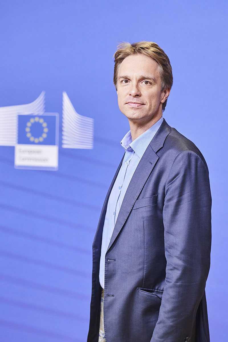 Stefan Keersmaecker, portavoz de Salud Pública de la Comisión Europea.