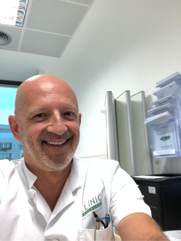 Vicenç Torregrosa, nefrólogo del Hospital Clínic de Barcelona