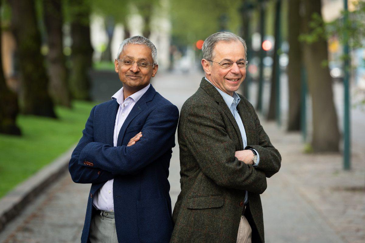 Shankar Balasubramanian y David Klenerman