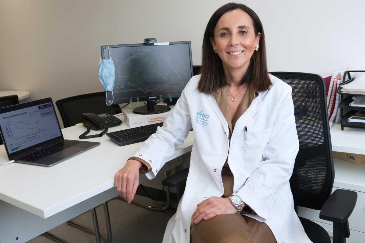 Ana Oaknin, jefa del Grupo de Neoplasias Ginecológicas del Vall d'Hebron Instituto de Oncología. Foto: VHIO