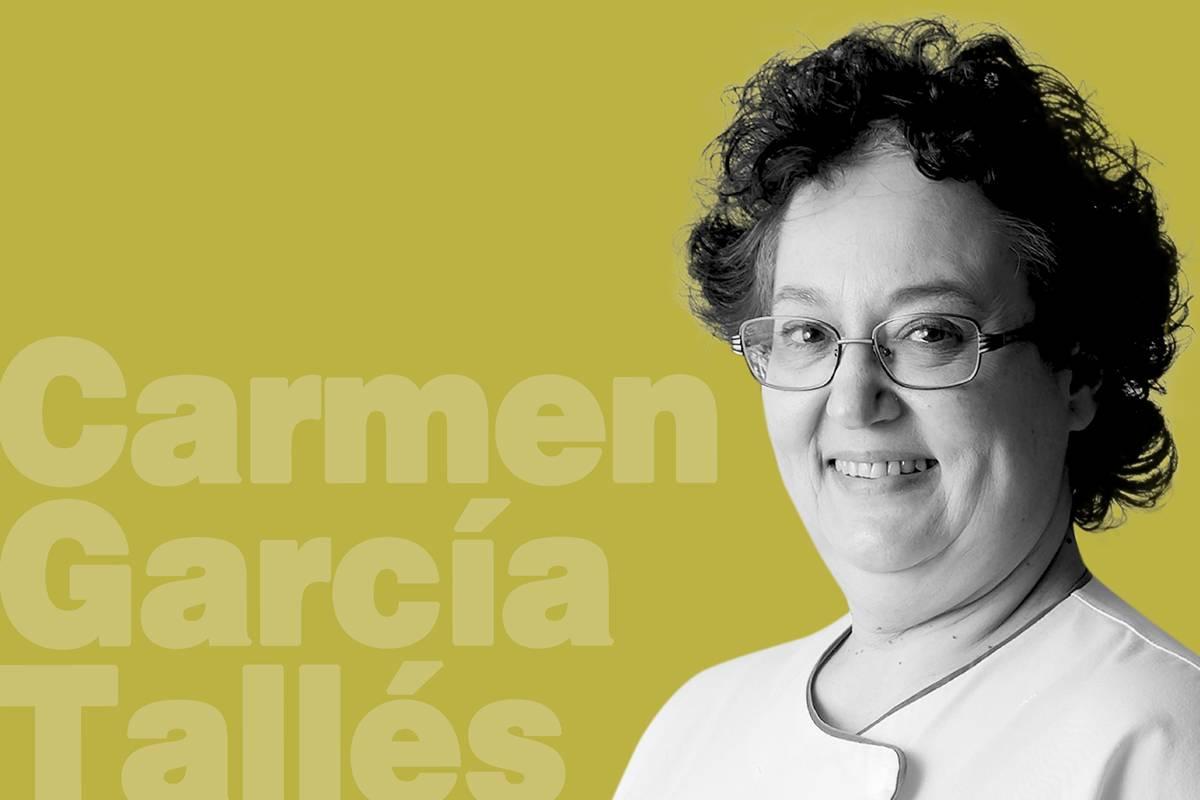 Carmen García Tallés, , enfermera de Cuidados Críticos en la Fundación Hospital Alcorcón, en Alcorcón (Madrid) (Foto: José Luis Pindado)