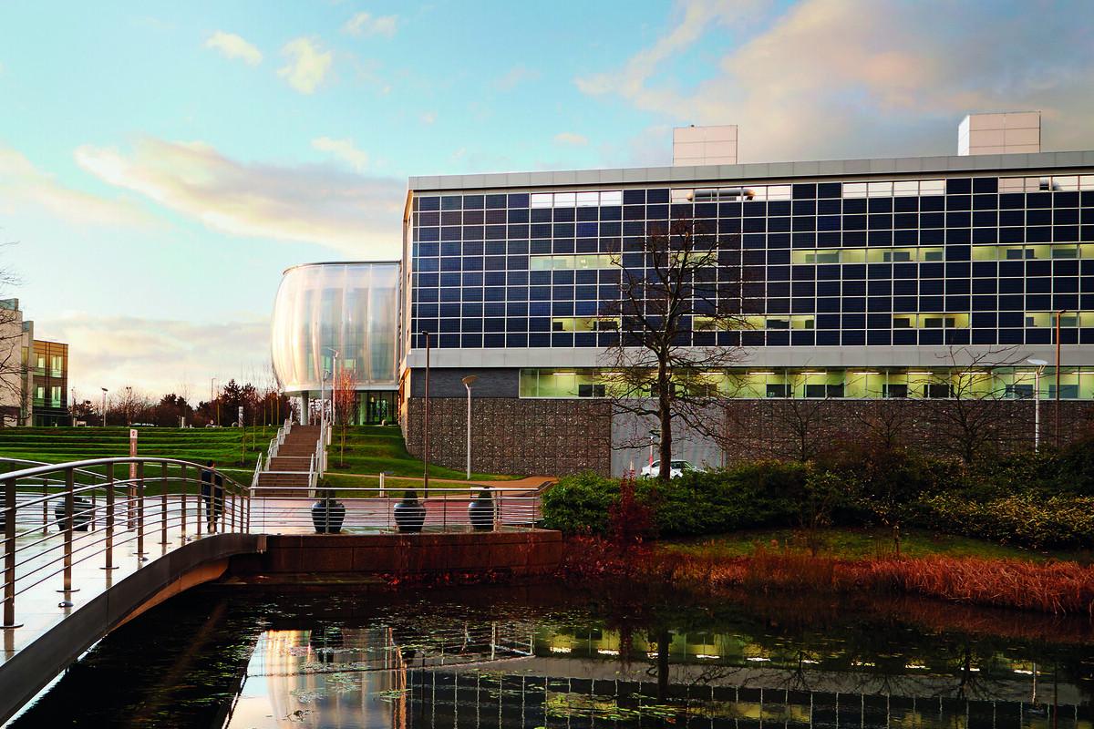 Centro de I+D en Stevenage (Reino Unido) de GSK, que ha desarrollado el anticuerpo monoclonal con la norteamericana Vir Biotechnology.