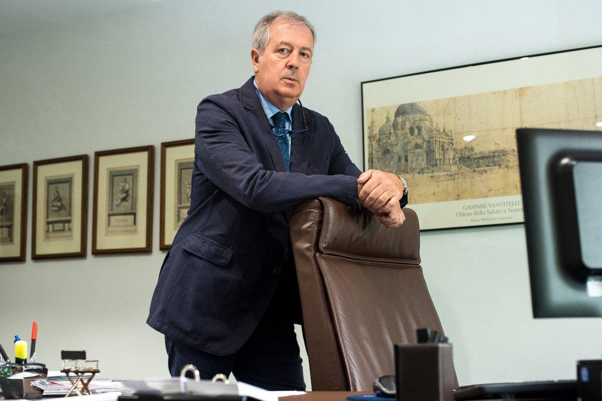 Luis Mayero, consejero de Lavinia-Asisa y delegado de la empresa en Madrid.