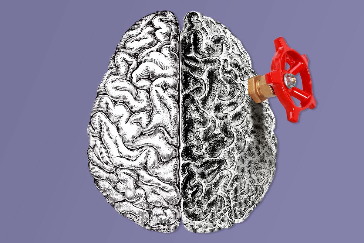 La patolog�a cerebrovascular es la principal causa de muerte de las mujeres en España, por encima de la demencia, las enfermedades cardiovasculares y la patolog�a oncológica. ILUSTRACIÓN: Gabriel Sanz.