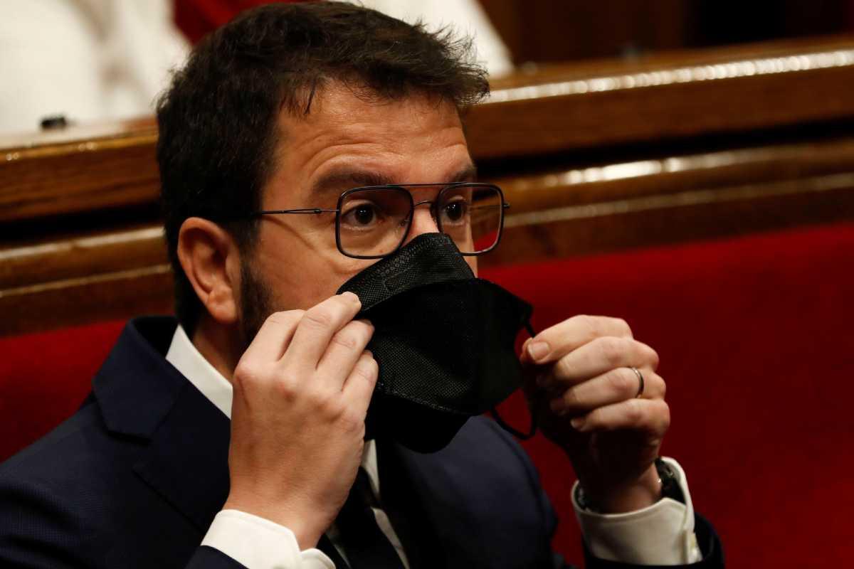 El nuevo presidente de la Generalitat catalana, Pere Aragonés.
