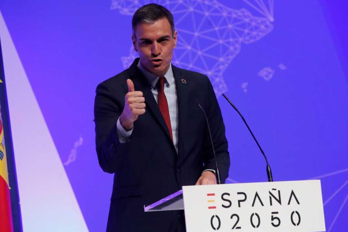 El presidente, Pedro Sánchez, ha lanzado esta semana su propuesta para el 2050.