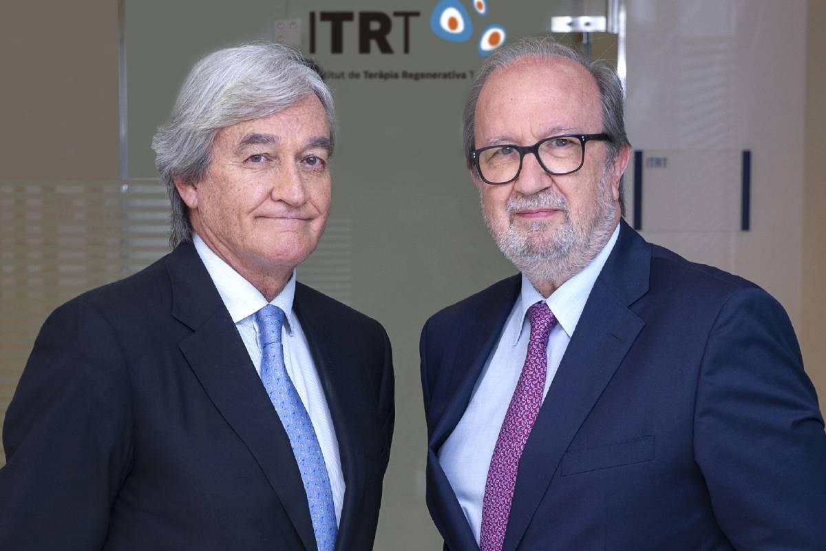 Robert Soler, director médico de ITRT y Lluís Orozco, director científico de ITRT.