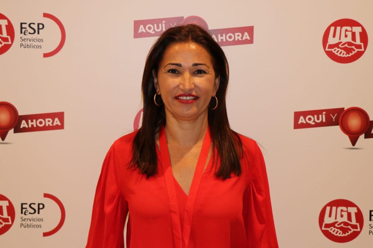 Ana Mar�a Francés Roger, nueva responsable nacional de Sanidad del sindicato UGT (FOTO: UGT-SP).
