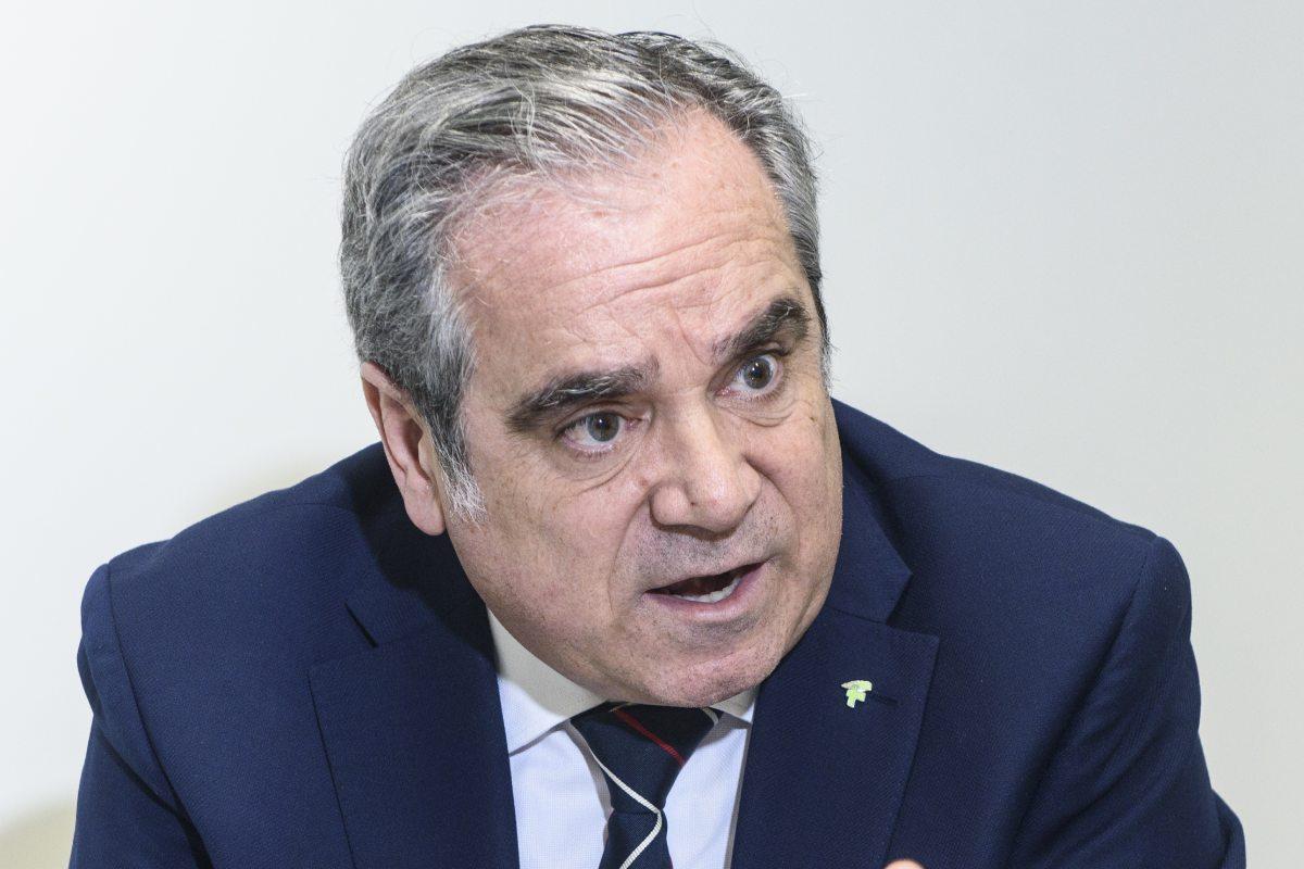 Jesús Aguilar, presidente en funciones del Consejo General de COF.