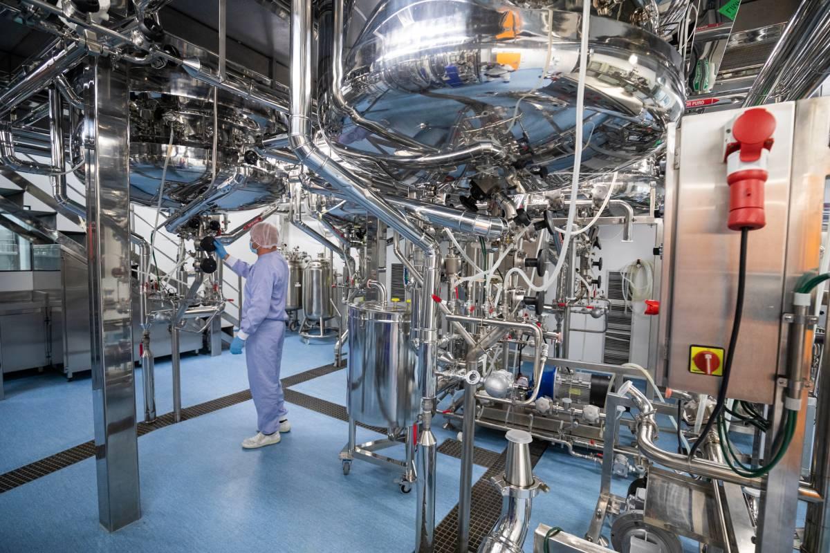 Instalaciones para la fabricación de vacunas de Zendal.