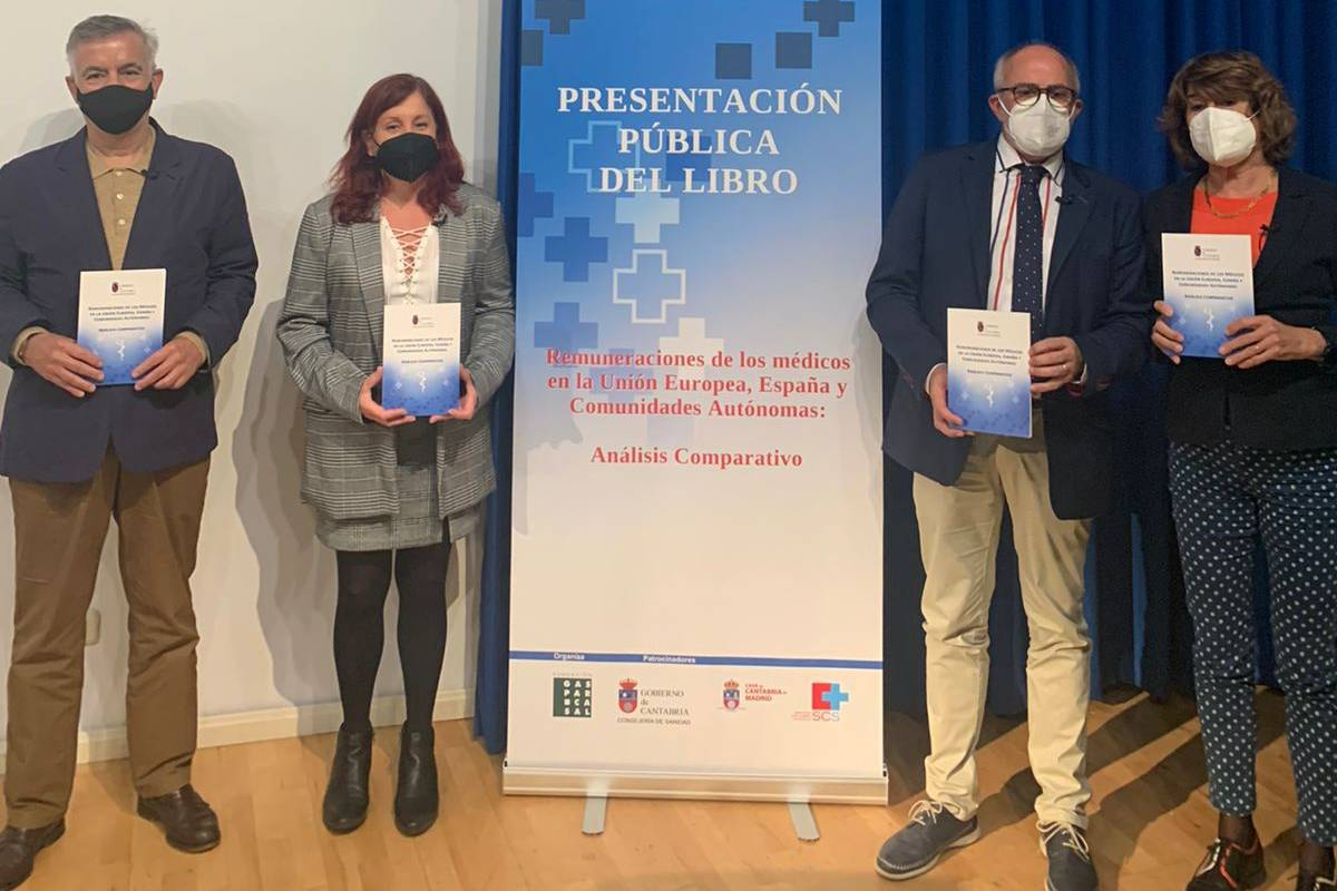 """Presentación del informe """"Remuneraciones de los médicos en la UE, España y CCAA: Análisis comparativo"""""""
