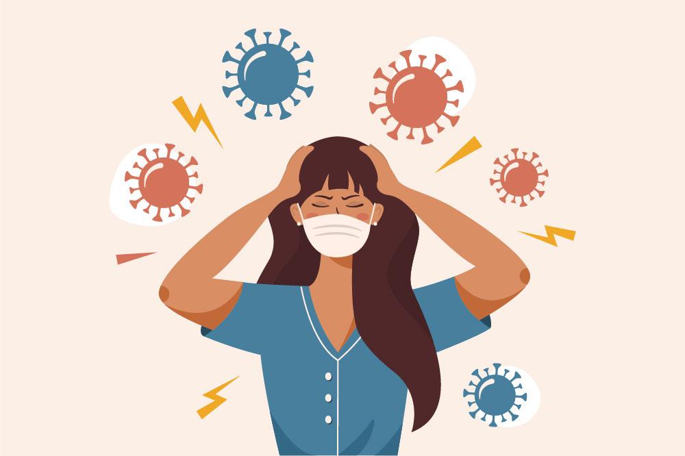 Según un estudio de Reino Unido, un 10% de los infectados sufre covid persistente.