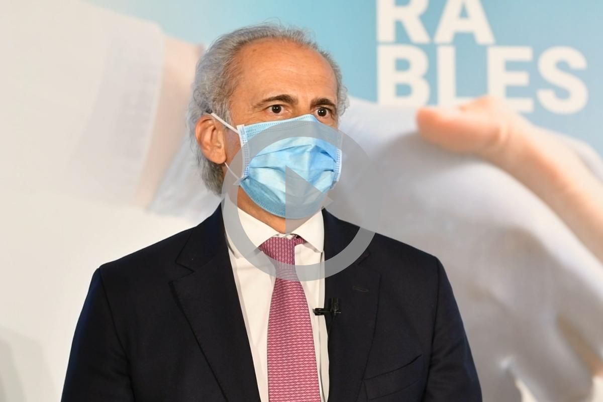 Enrique Ruiz Escudero, consejero en funciones de Sanidad de la Comunidad de Madrid