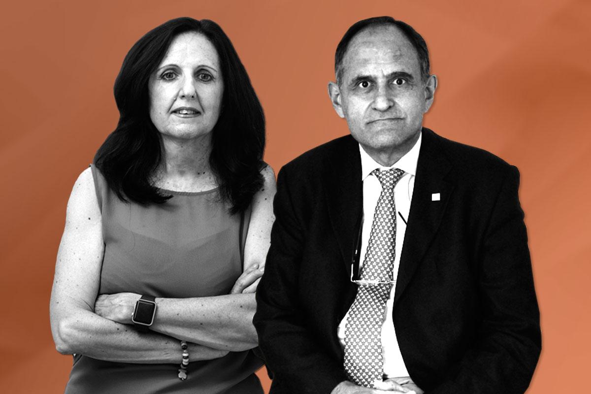 Ana Molinero Crespo y José Polo García, presidentes de los comités científicos y organizador del III Congreso Médico-Farmacéutico, que se celebrará 'on line' del 18 al 20 de mayo.