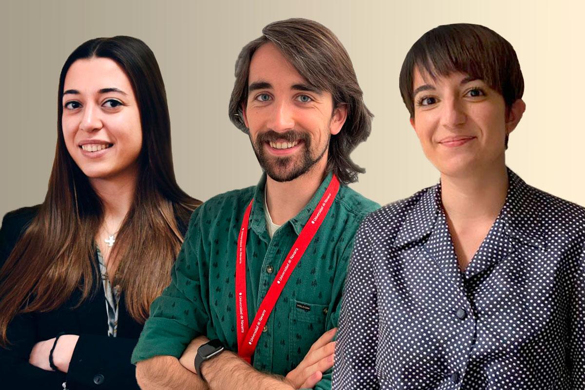 Irene Santos, Mar�a Cholvi y Llu�s Pascual, responsables del proyecto.