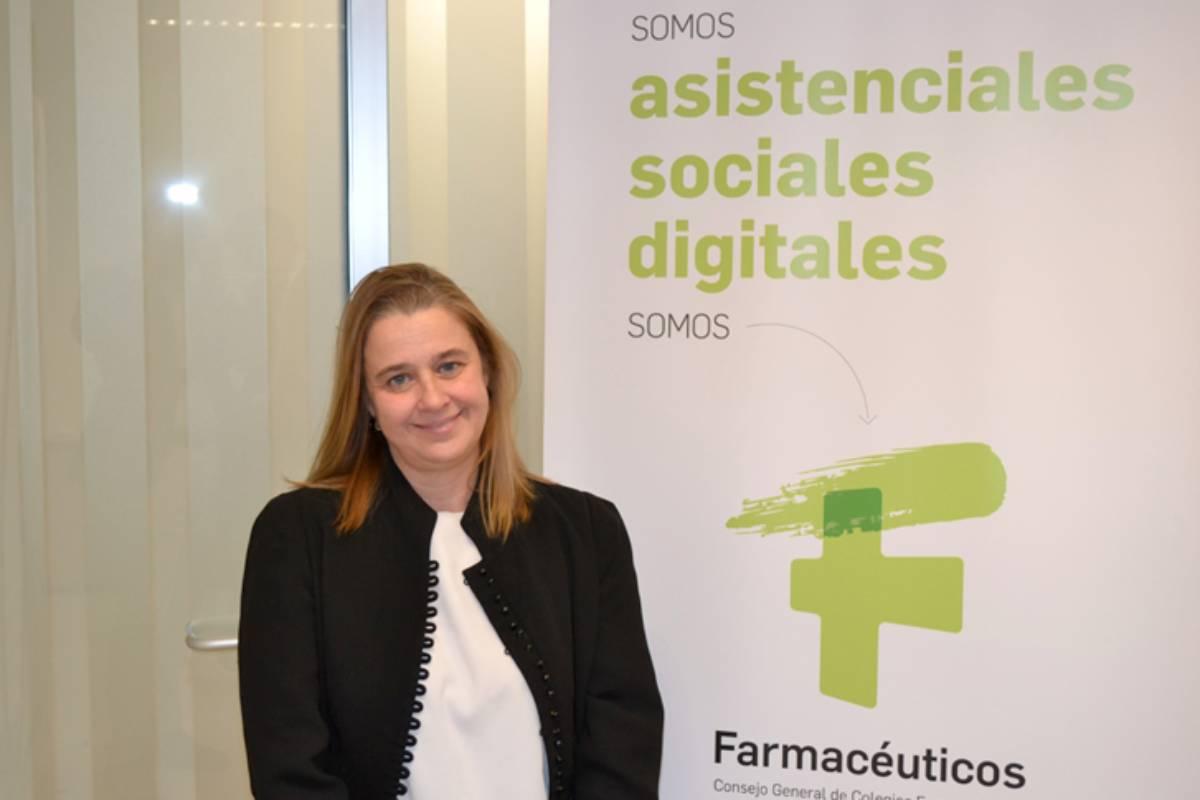 Natividad Calvente, directora de Innovación, Formación y Relaciones Institucionales del Consejo General de COF.