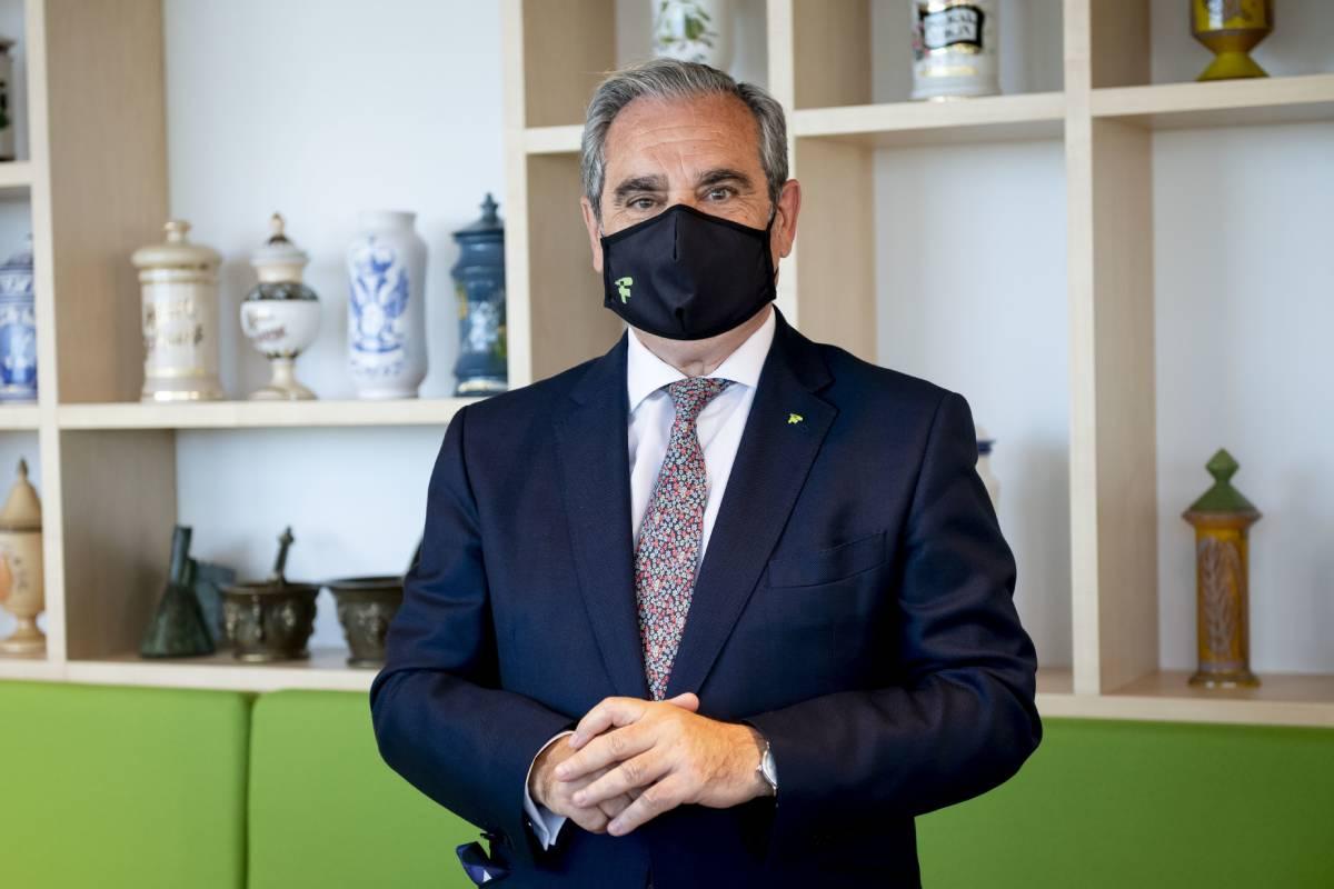 Jesús Aguilar, presidente del Consejo General de COF. /JL. Pindado.