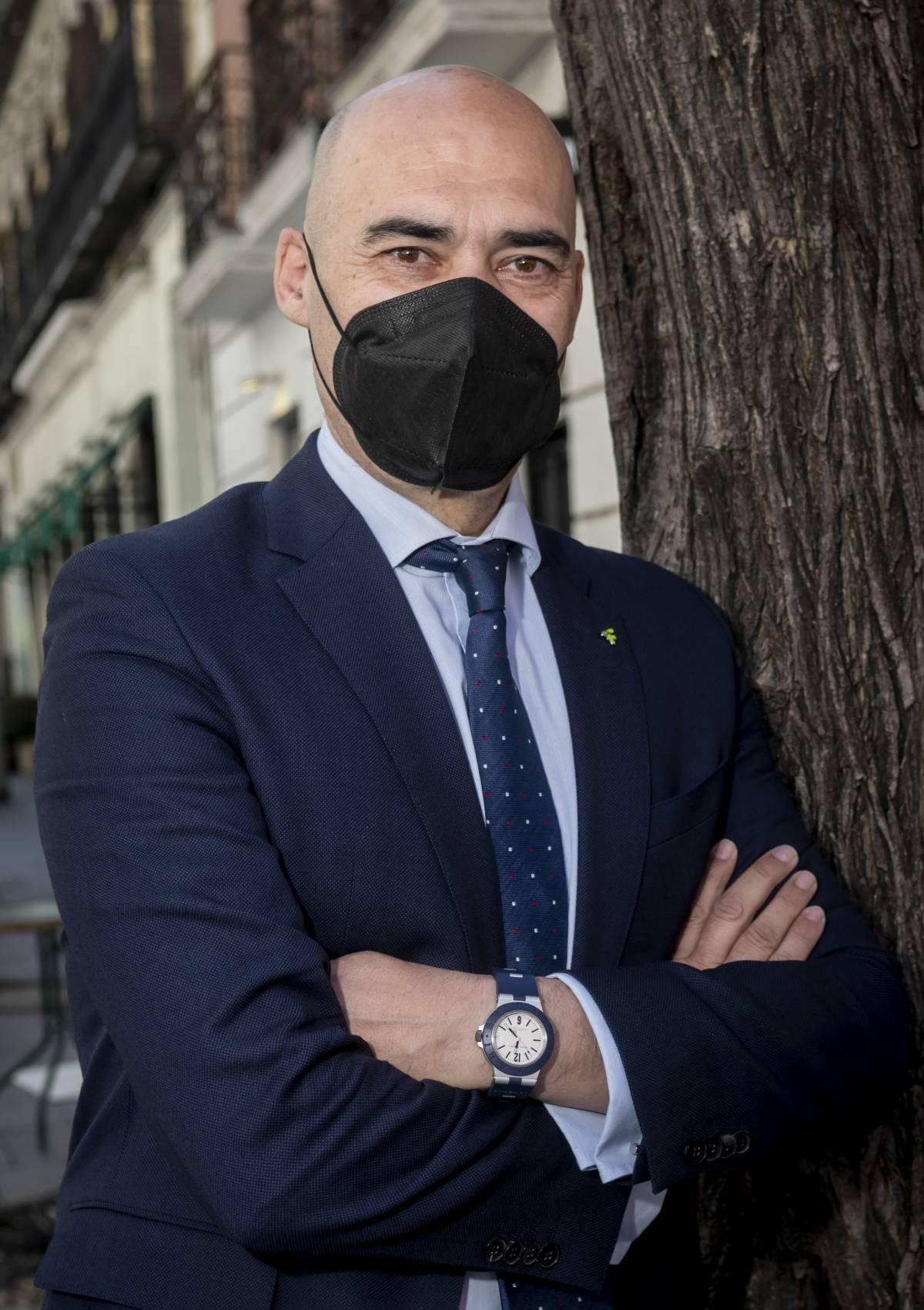 Sergio Marco, presidente del COF de Castellón. /JL. Pindado.