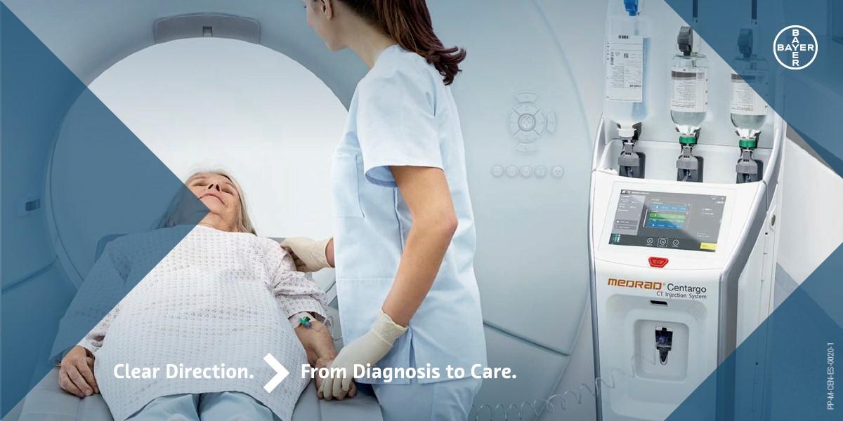 Bayer inaugura el sistema de inyección para tomografía, Medrad Centargo