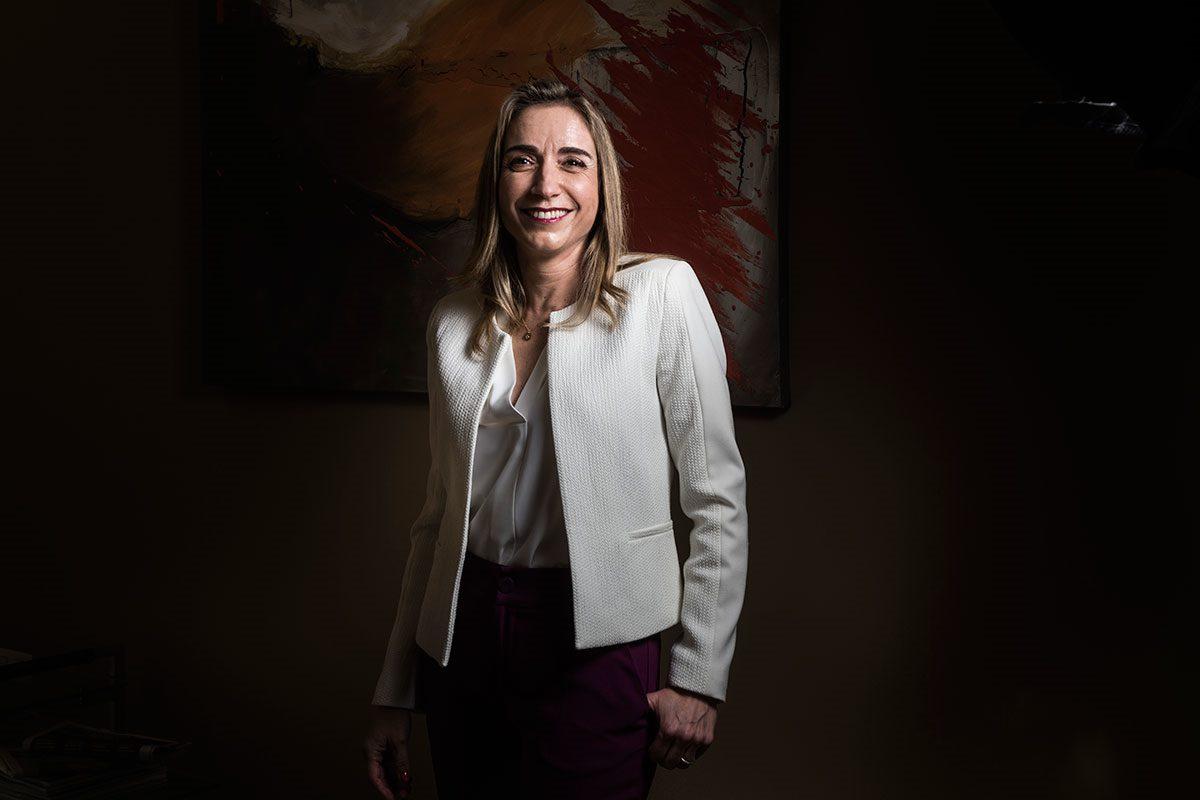 Matilde Sánchez Reyes, presidenta de la Federación de Distribuidores Farmacéuticos. (Luis Camacho)