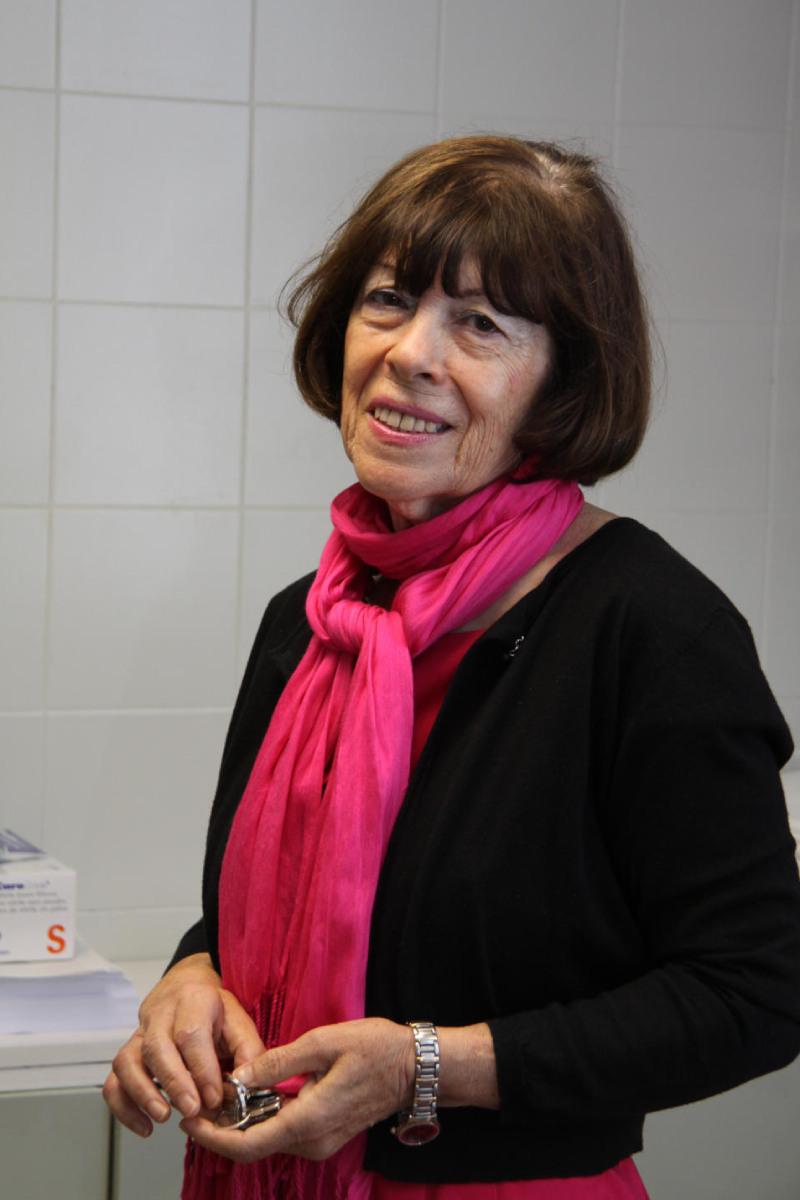 Ana Villegas Mart�nez, presidente del Grupo Español de Eritropatolog�a.