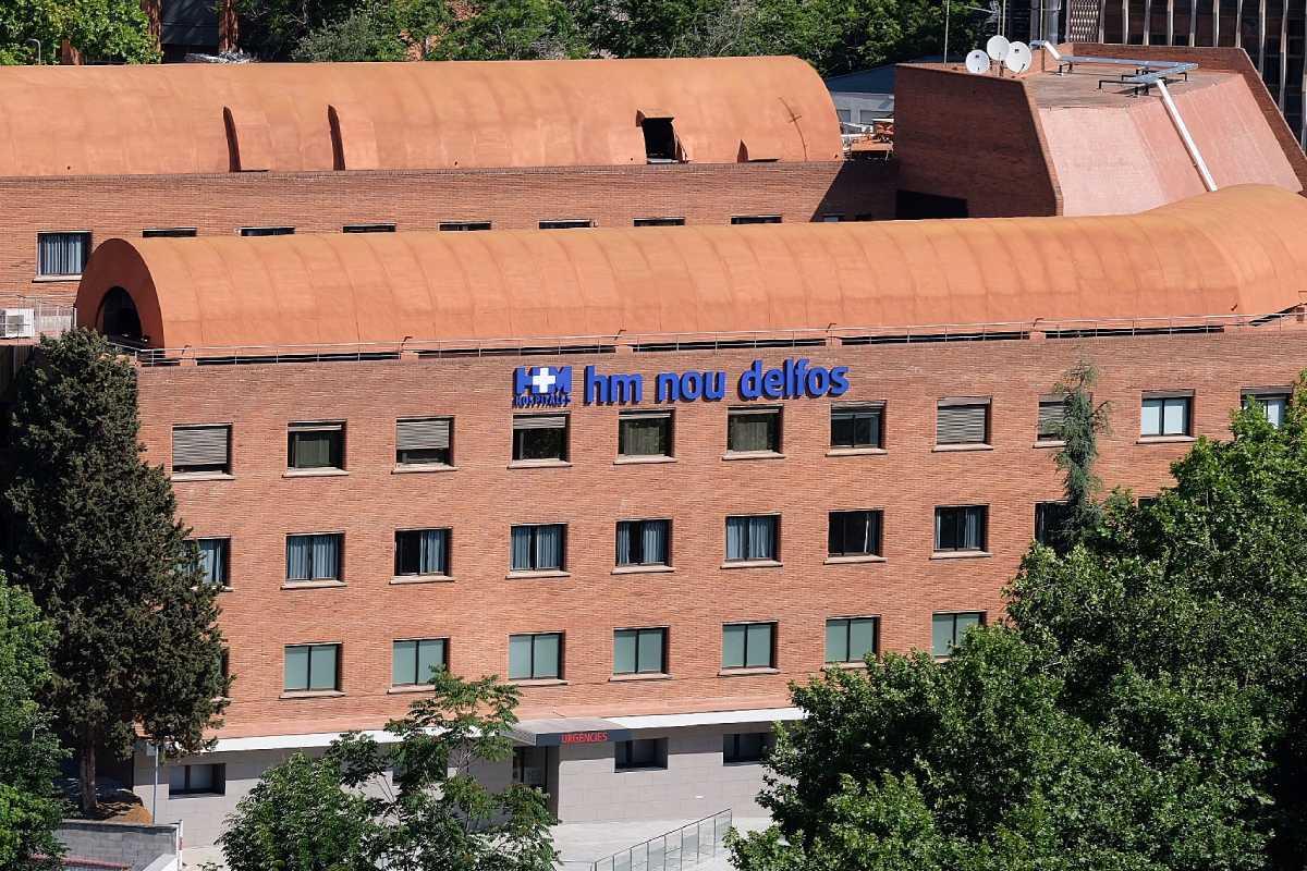 La Clínica Delfos, ahora hospital, la abrieron en 1966 un grupo de médicos. Foto: HM Hospitales