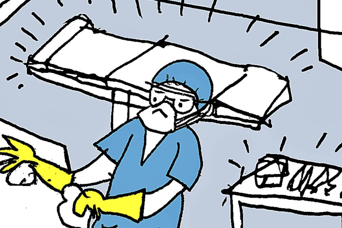 La limpieza es tan importante como la desinfección. (ILUSTRACIÓN: Miguel Santamarina)
