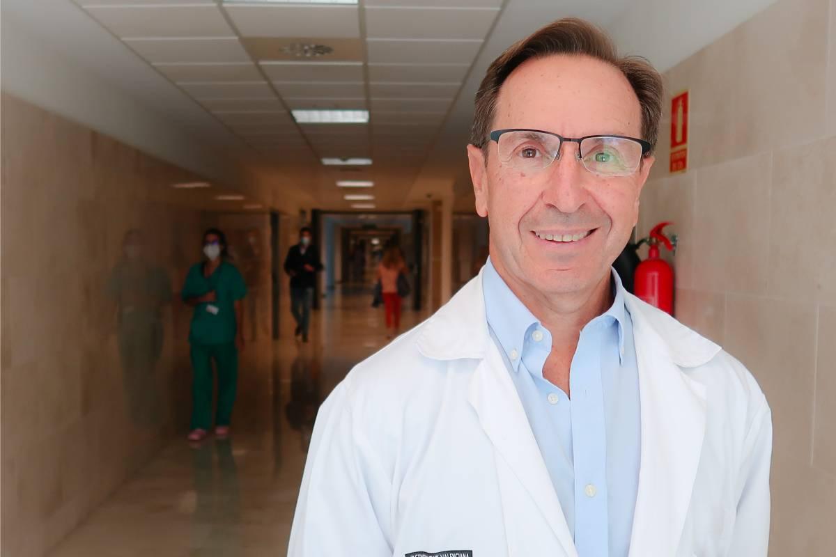 Álvaro Castellanos, jefe de Medicina Intensiva del Hospital La Fe y presidente de la Sociedad Española de Medicina Intensiva, Crítica y Unidades Coronarias (Semicyuc) (FOTO: Semicyuc)
