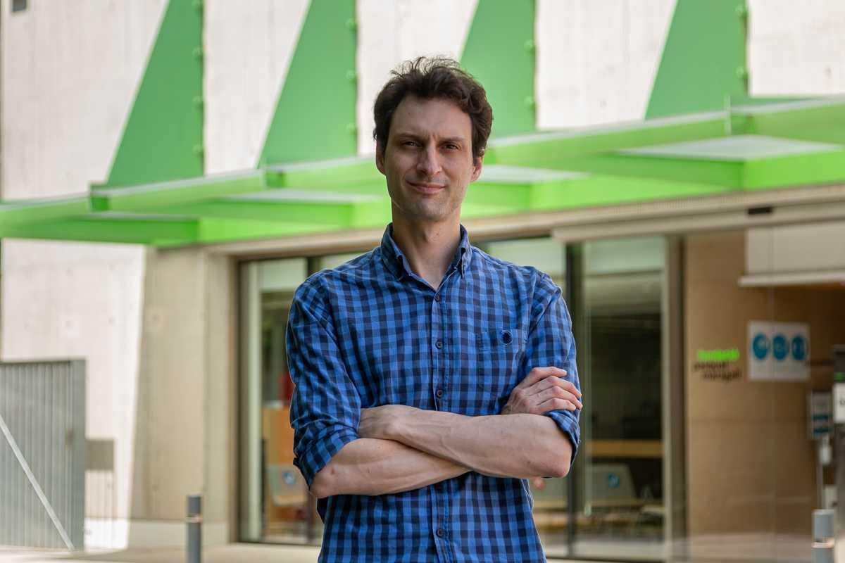 Oriol Grau, investigador del BBRC.