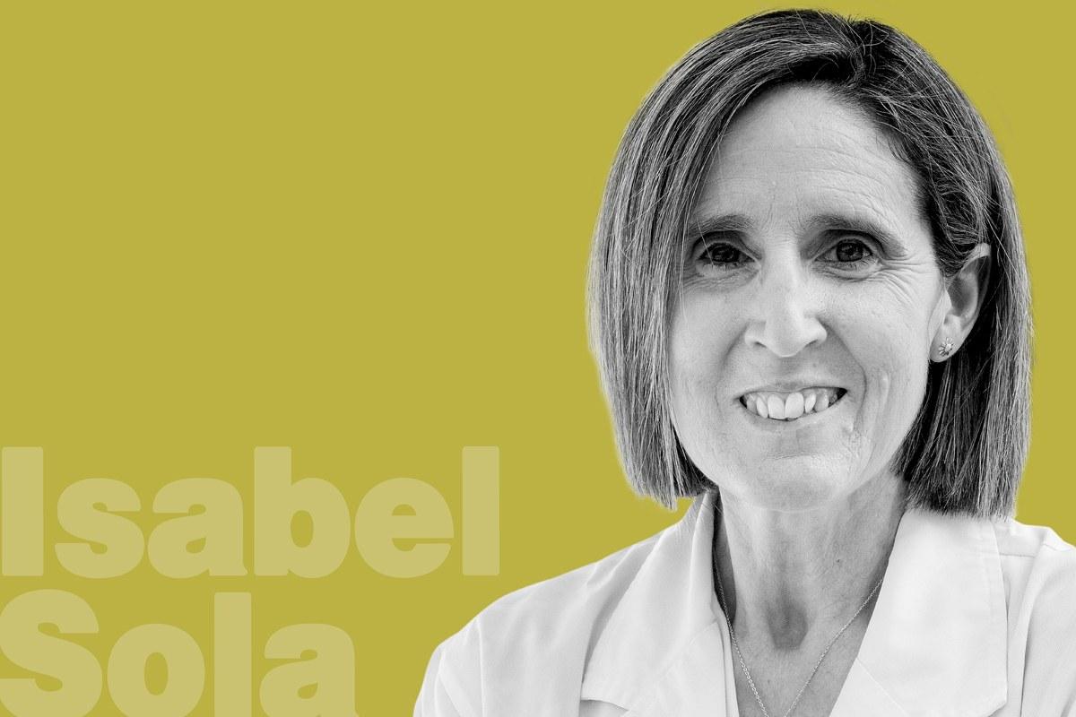 Isabel Sola Gurpegui, codirectora del laboratorio de Coronavirus del CNB-CSIC.