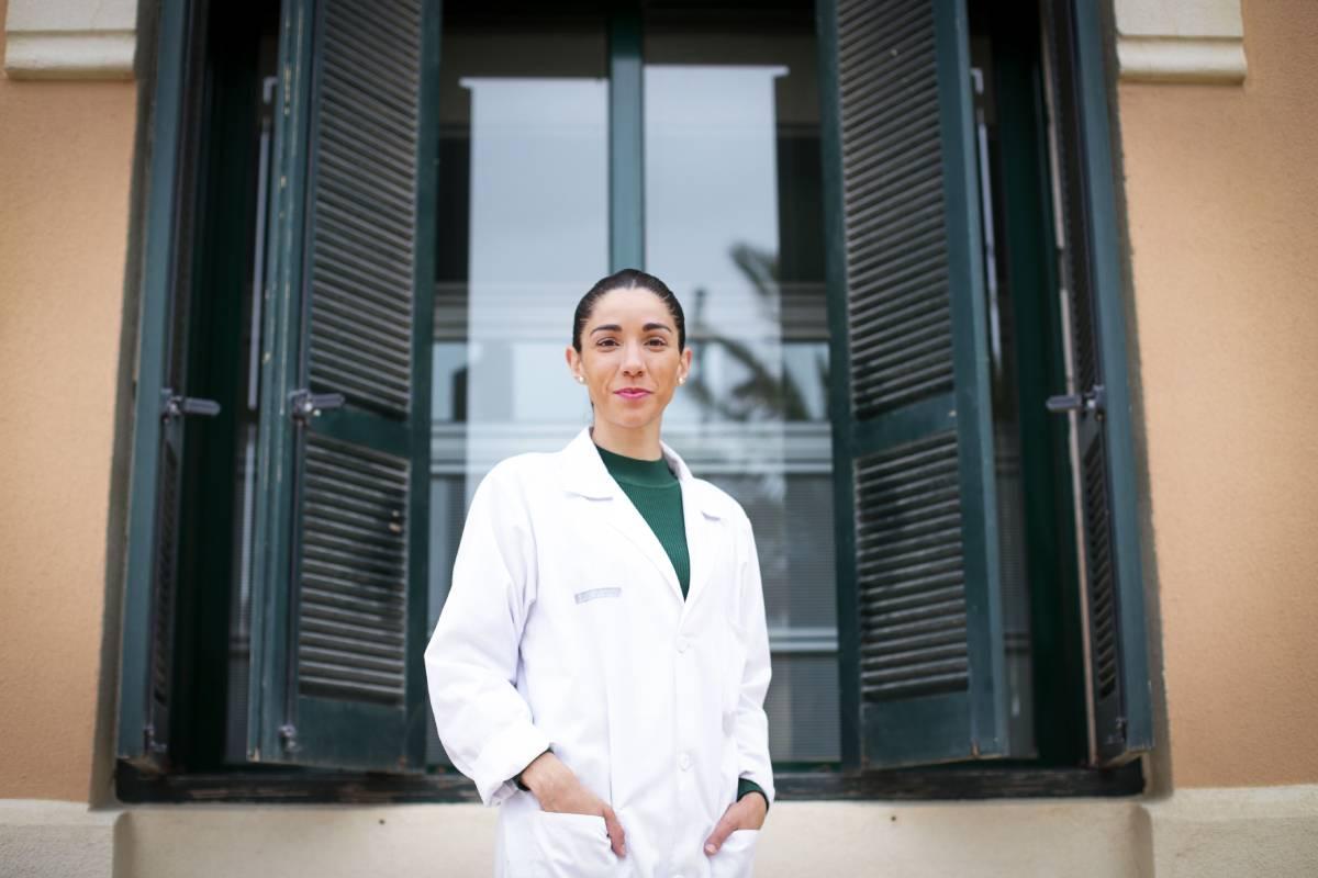 Laura Almudéver, nueva presidenta del Colegio de Enfermer�a de Valencia.