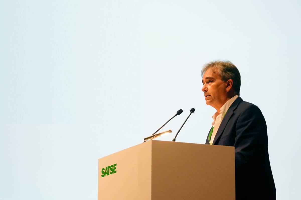 Manuel Cascos es reelegido presidente de Satse en el marco del XV Congreso Estatal de la organización sindical.