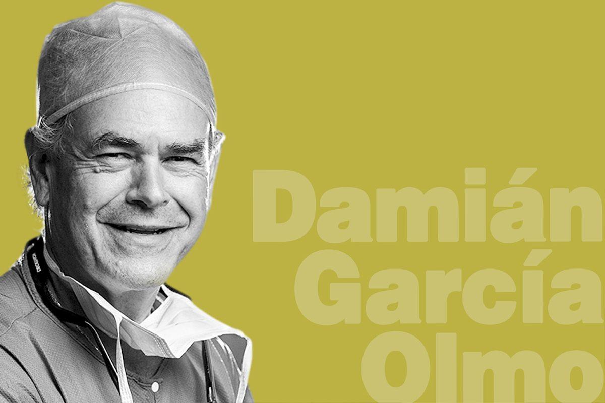 Damián García-Olmo, jefe del Departamento de Cirugía de la Fundación Jiménez Díaz, de Madrid. FOTO: DM.