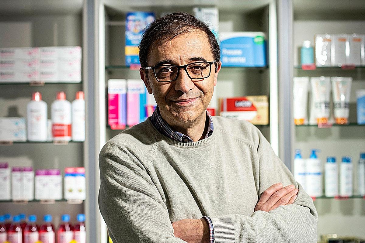 Luis Panadero, del Comité Cient�fico de Infarma y vicepresidente 3º del COF de Madrid.
