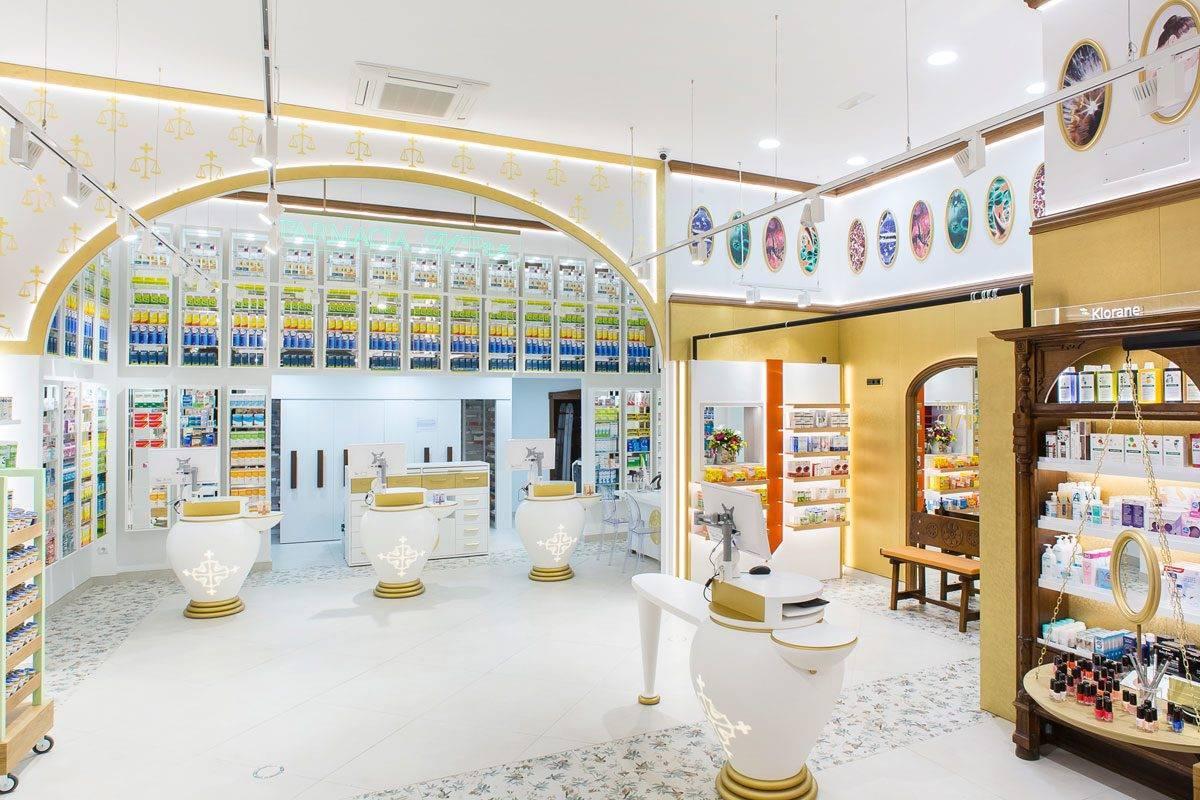 Farmacia Hermosa tiene una superficie de venta de 200 m2 y una segunda planta de 100 m2. FOTO: Marketing-Jazz.