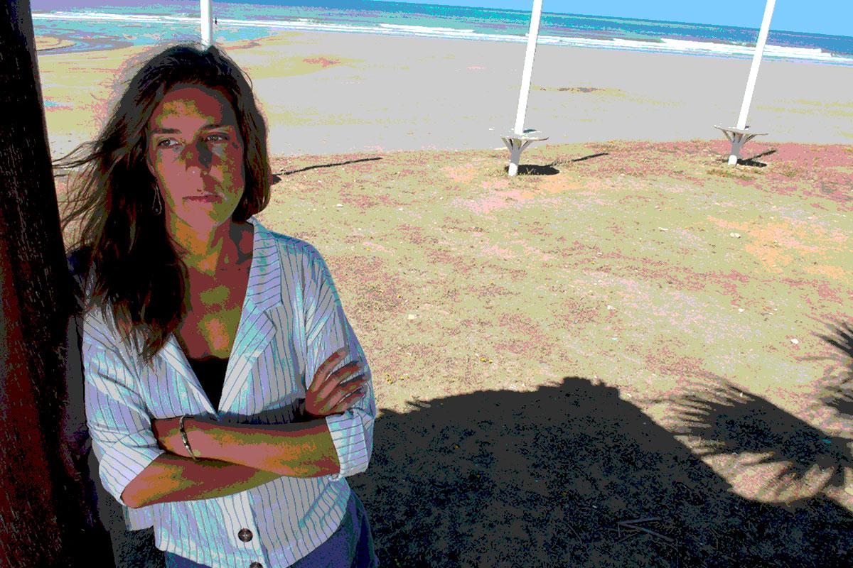 Fátima Gottwald, enfermera de la Unidad de Reanimación de Urdúliz, se está planteando pedir en los titulares el reconocimiento de su covid-19 como enfermedad profesional (FOTO: Cata Zambrano)