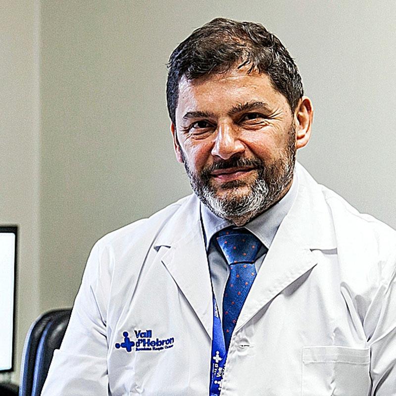 Francesc Bosch, jefe del Servicio de Hematolog�a. Foto: Jaume Cosialls