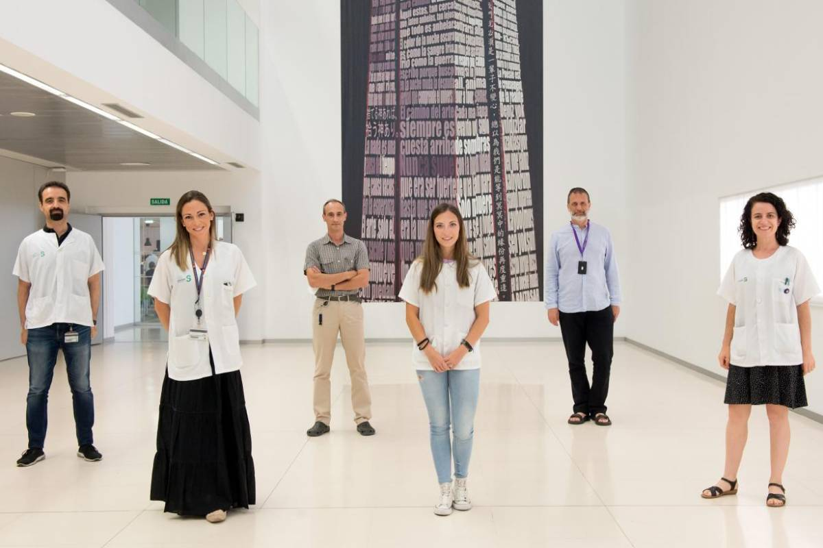 Integrantes del grupo de Neuroprotección Molecular del Hospital Nacional de Parapléjicos.