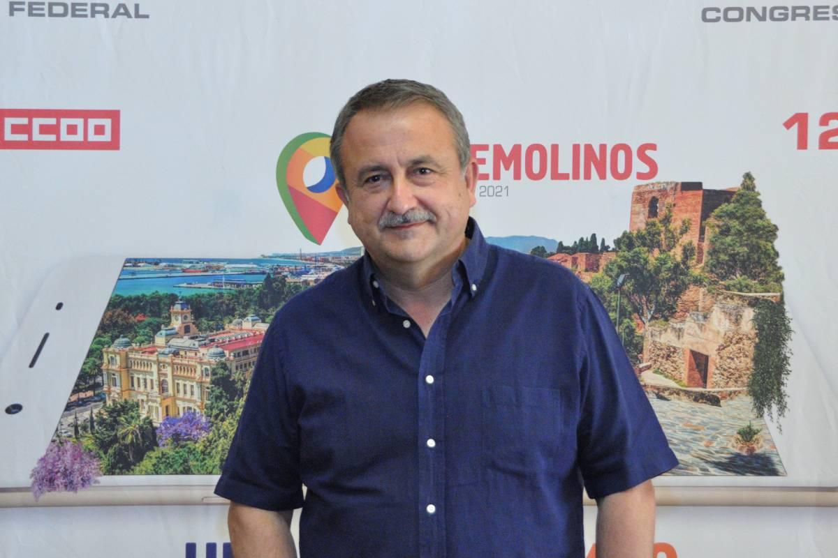 Humberto Muñoz, secretario general de Federación de Sanidad y Sectores Sociosanitarios de CCOO