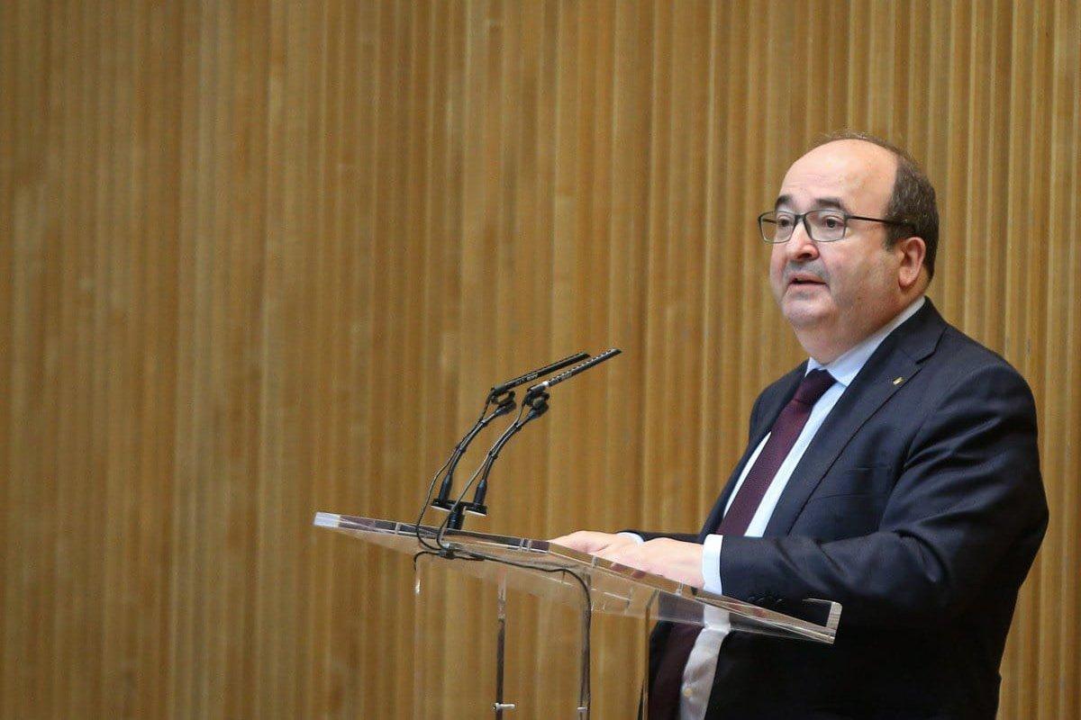 Miquel Iceta, ministro de Política Territorial y Función Pública. (Mptfp)