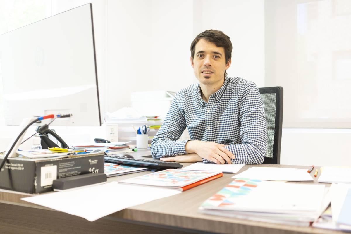Ion Arocena, director general de Asebio (FOTO: Ángel Navarrete).