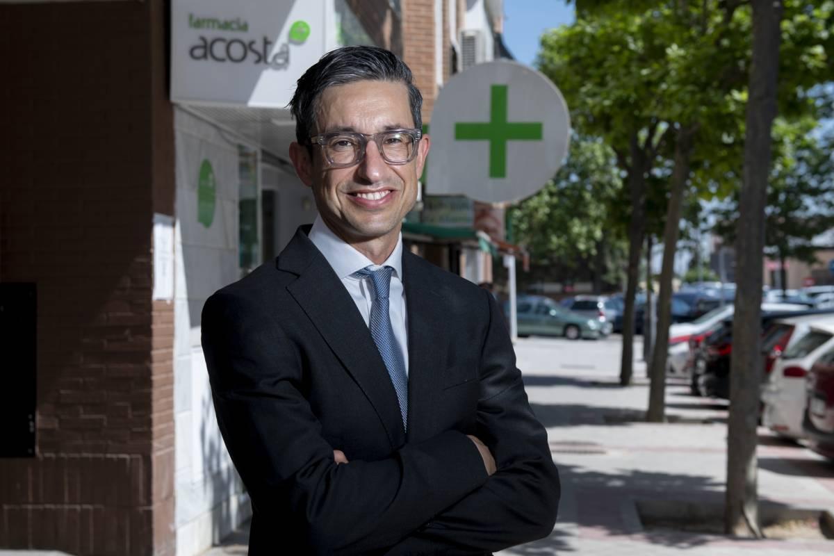 Jaime Acosta acaba de convertirse en el único español y en el único no británico que forma parte del Comité Asesor de Expertos en Farmacia Digital de la Real Sociedad Farmacéutica (RPS según sus siglas en ingles).