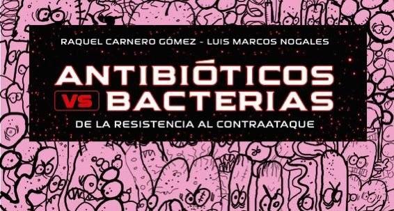 Cabecera del libro 'Antibióticos vs Bacterias'.