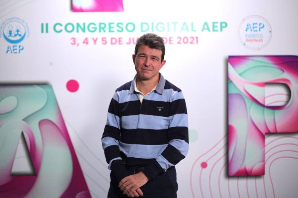 Luis Blesa, nuevo presidente de la Asociación Española de Pediatría (Foto: AEP)
