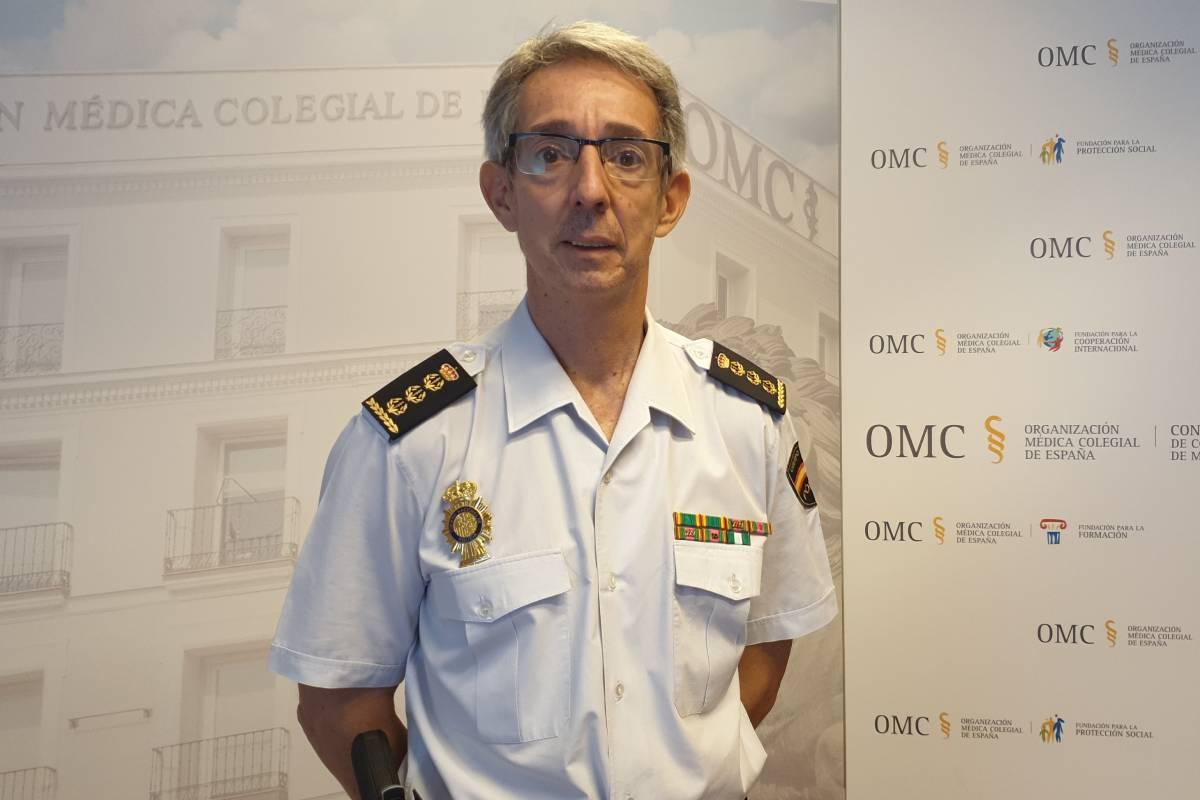 Comisario Manuel Yanguas, interlocutor policial sanitario de la Polic�a Nacional (Foto: OMC)