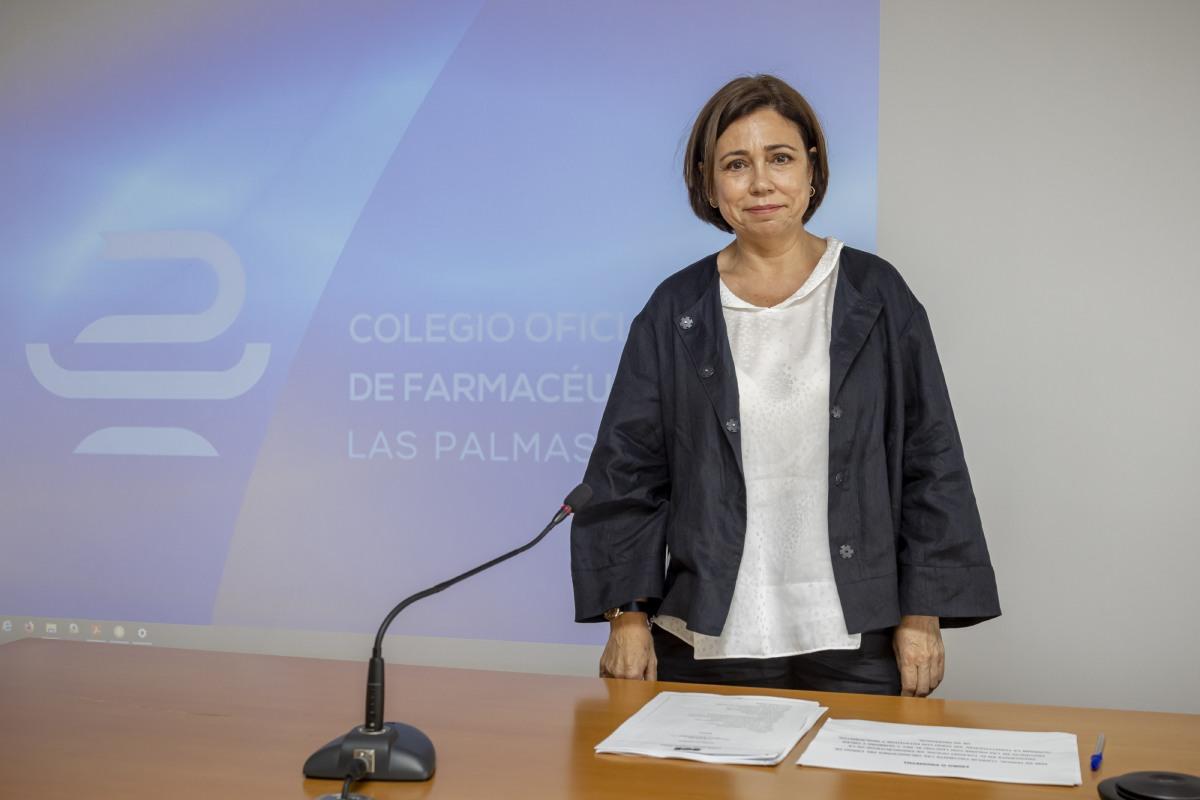 María Loreto Gómez Guedes, nueva presidenta del COF de Las Palmas.