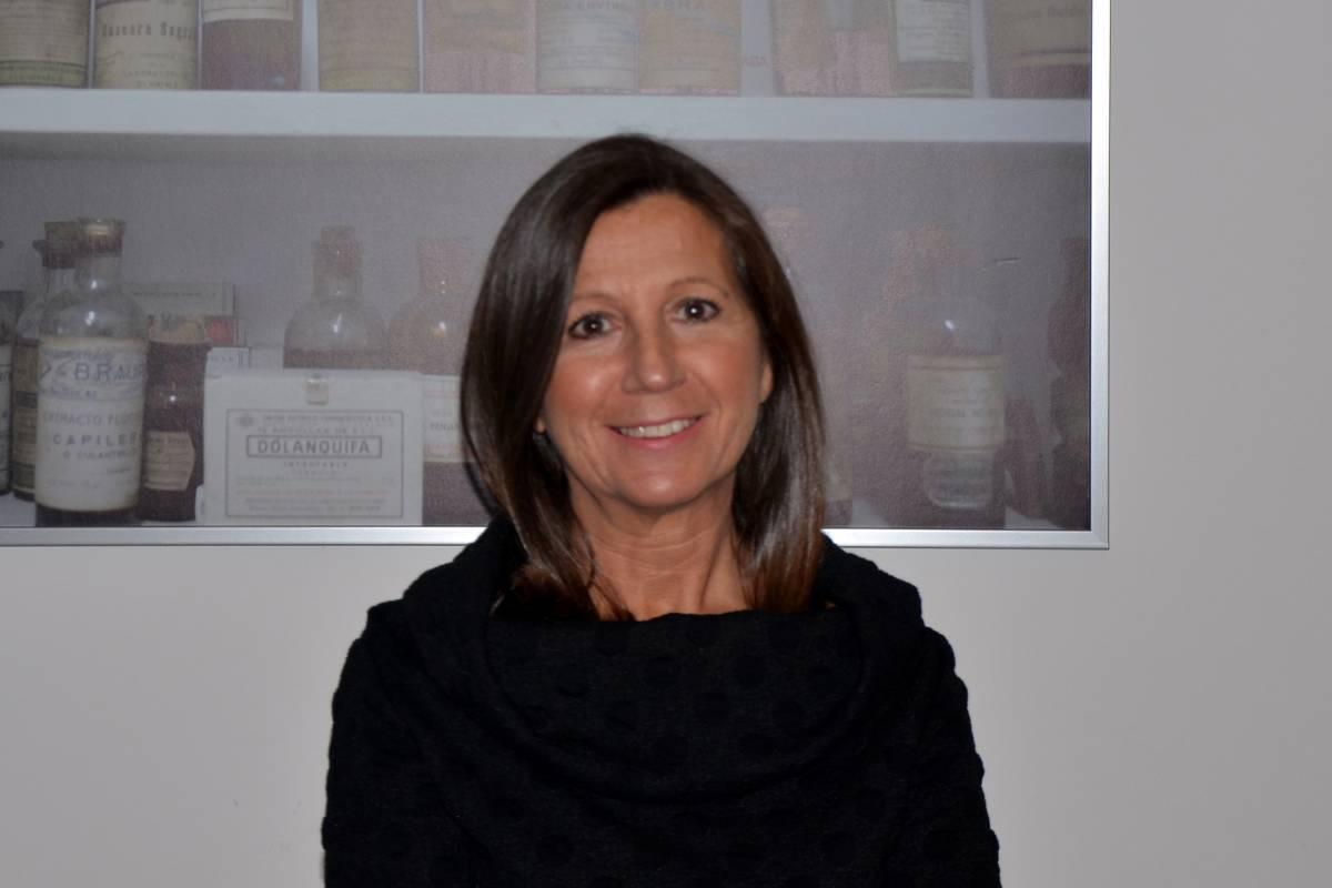 Alba Soutelo, presidenta en funciones del COF de Pontevedra.