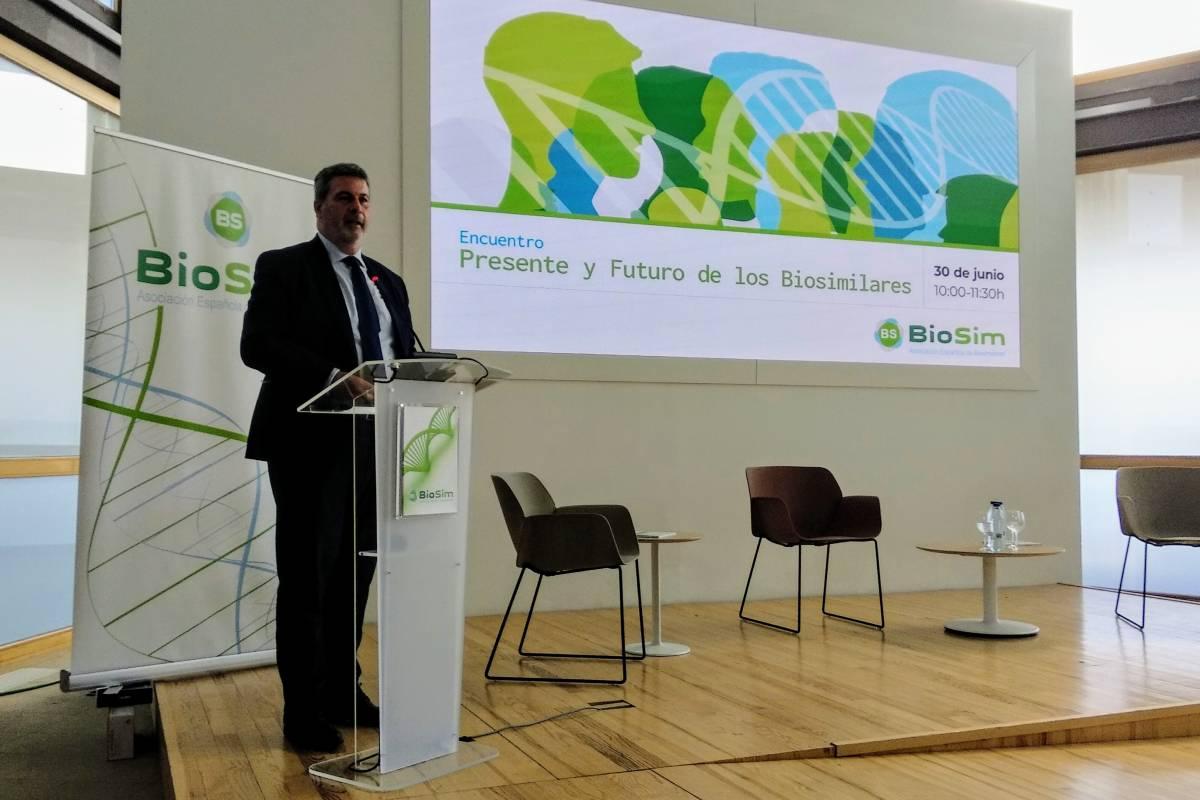 Rafael Barberá, director general de Gestión Económica-Financiera y Farmacia de la Comunidad de Madrid.