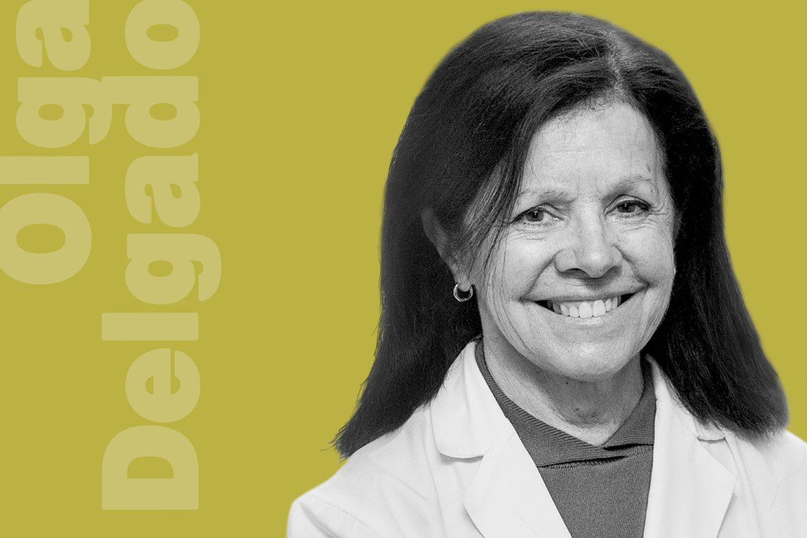 Olga Delgado, presidenta de la Sociedad Española de Farmacia Hospitalaria. (Alberto Vera)